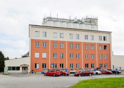 MSK Kroměříž a.s. budova Olomouc